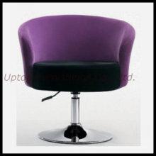Cadeira giratória de estofamento ajustável em altura para salão / clube / bar (SP-HC217)