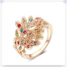 Fashion Jewellery Crystal Jewelry Alloy Ring (AL0003RG)