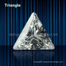Various Color Triangle Shape Cubic Zirconia