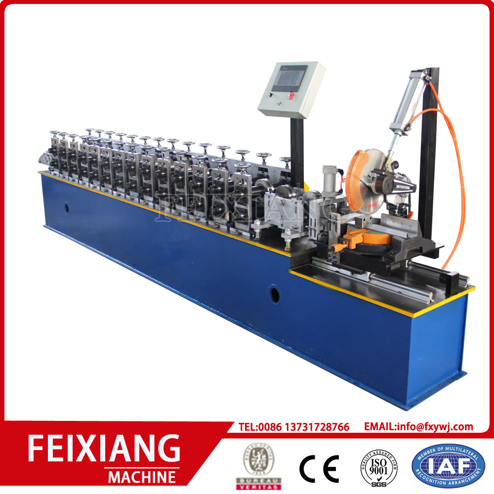 Door frame steel shutter forming equipment