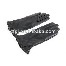 Fashion women black gloves leather products in dubai