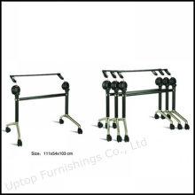 Base de mesa plegable de la reunión de la oficina desprendible con la rueda (SP-FTL080)