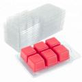 La cire transparente en plastique fond la boîte d'emballage à clapet