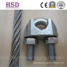 DIN741, DIN1142, Us Type Malleable Wire Rope Clips, Us Forged Wire Rope Clips, JIS Type Wire Rope Clips