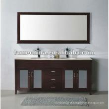 Gabinete de banheiro de madeira sólida de carvalho mais vendido de 2013