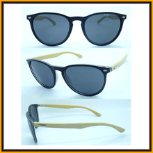 F15287 Wholesale Fashion Bamboo Temple Sun Glasses