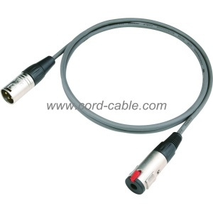 DMDF Series M XLR to Stereo Jack Socket Microphone Cable