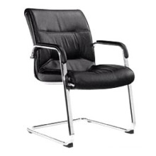 Modern Leather Meeting Office Conference Visitor Chair Without Wheels (HF-BLD43)