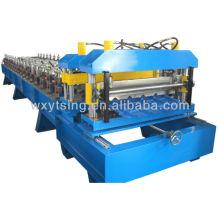 YTSING-YD-0475 pasó el CE y la autentificación de ISO Rollo de azulejo esmaltado que forma la máquina para techar la hoja