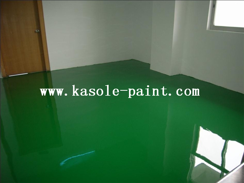 Brilliant Green Epoxy Finish Antistatic Material