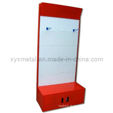 Metallpulver beschichtete Ausstellung Pegboard Display Regal Rack (PR-01)