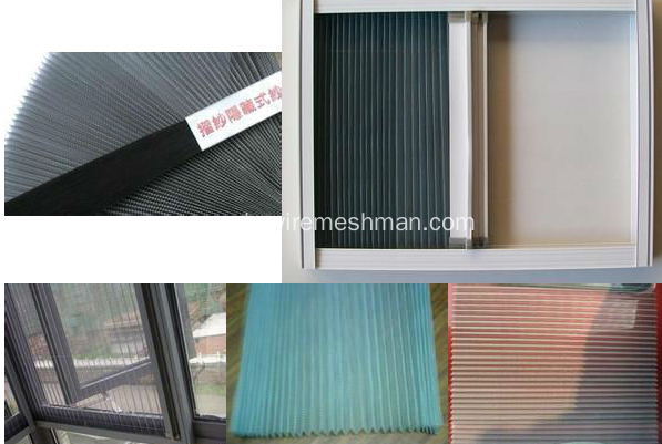 Pleated Window Screen