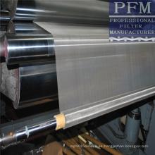 tela filtrante tejida de acero inoxidable para la impresión, el filtro, el tamiz, la puerta y la pantalla de la ventana