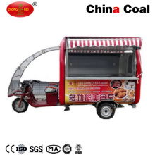 Carro de quiosco de comida callejera eléctrica
