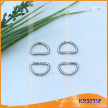 Inner size 12mm Metal Buckles, Metal regulator,Metal D-Ring KR5051