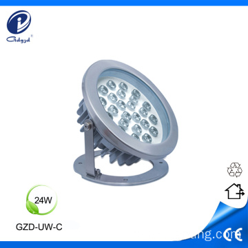 Super brilho 24W undedwater luzes led