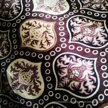 Tecido de veludo urdidura de poliéster para linha de costura