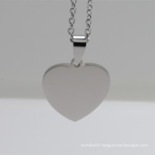 Wholesale Cheap Custom Stainless Steel Heart Shape Pet Tag