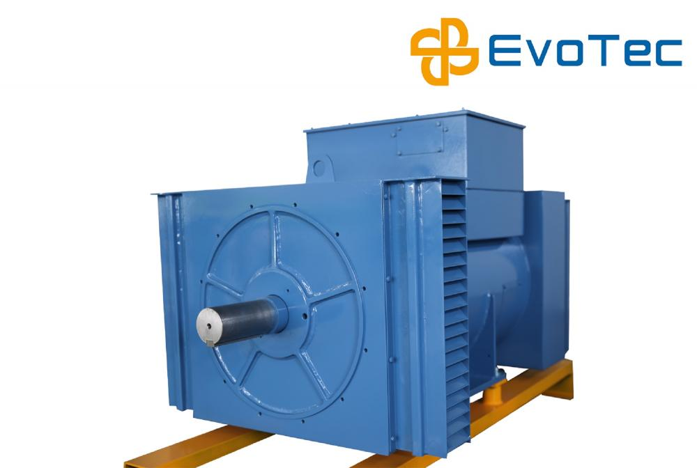 Four Pole 13.8kV Industrial Alternator