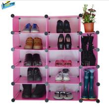 Fresh Combination Shoe Rack Estante de almacenamiento Armario Close