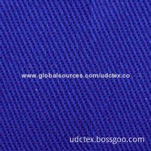 100% Cotton Fabric for Workwears/Uniforms/Pants, Fire-retardant and Antistatic