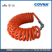 China hot selling pu spiral air tube
