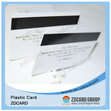 Plastic Magnetic Stripe PVC Card
