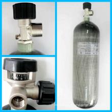 Cylindre de gaz de fibre de carbone sans couture à haute pression 2014 (CRPIII208-12-30)