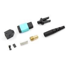 Conector de fibra óptica MPO para cable redondo o de cinta