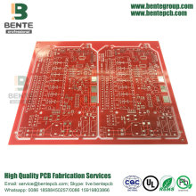 Modern Design PCB Custom PCB Red Ink