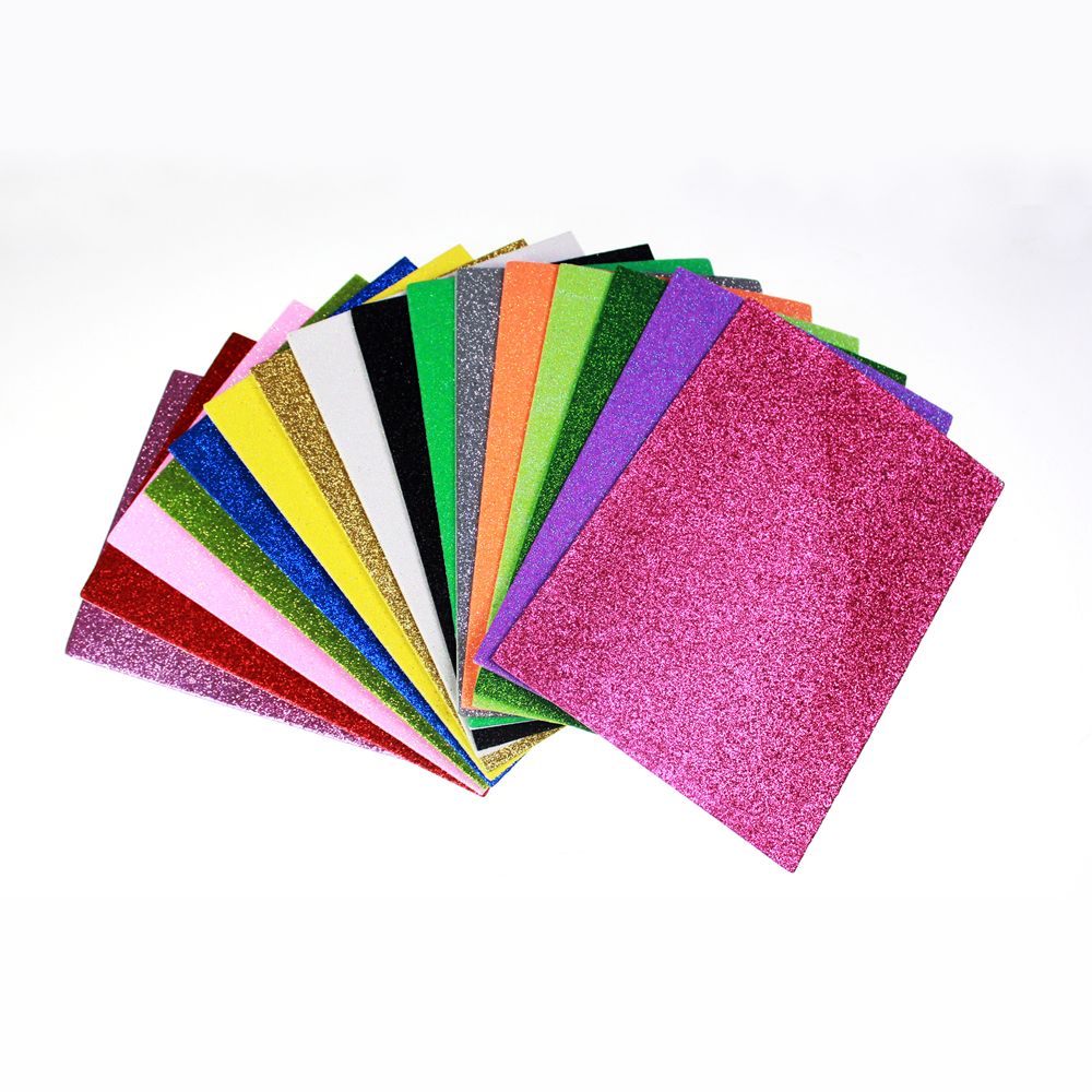 EVA glitter Foam sheet