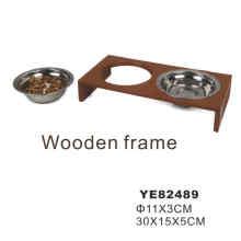 Stainless Steel Pet Bowl, Dog Feeding Bowl (YE82489)