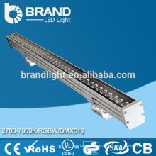 Fabricante de alta calidad IP67 caliente blanco al aire libre llevó las luces de pared lavadora, RoHS CE aprobado