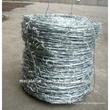 Malla de alambre de púas