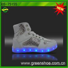 Кроссовки светодиодные обувь для женщин Перезаряжаемые