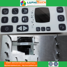 Industry Machine Using Aluminium Backer Membrane Keypad
