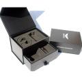 Luxury Cardboard Watch Box foam insert Custom packaging