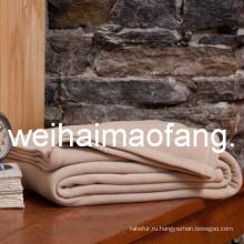 Оптовая 100% чистой шерсти отель одеяло