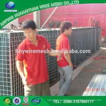 Hot sale!!! high quality Perimeter Security and Defence Walls security galvanized hesco barrier