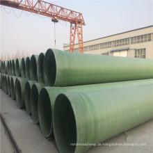 Hydraulische Übertragung GRP / FRP Rohre mit großem Durchmesser