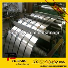 Material de flejado de aluminio