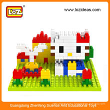 Diy toy LOZ blocks intelligence toys for children