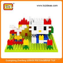 Diy игрушка LOZ блокирует игрушки разведки для детей