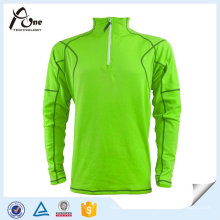 High Quality Dri Fit Half Zip Long Sleeve Polo Shirts