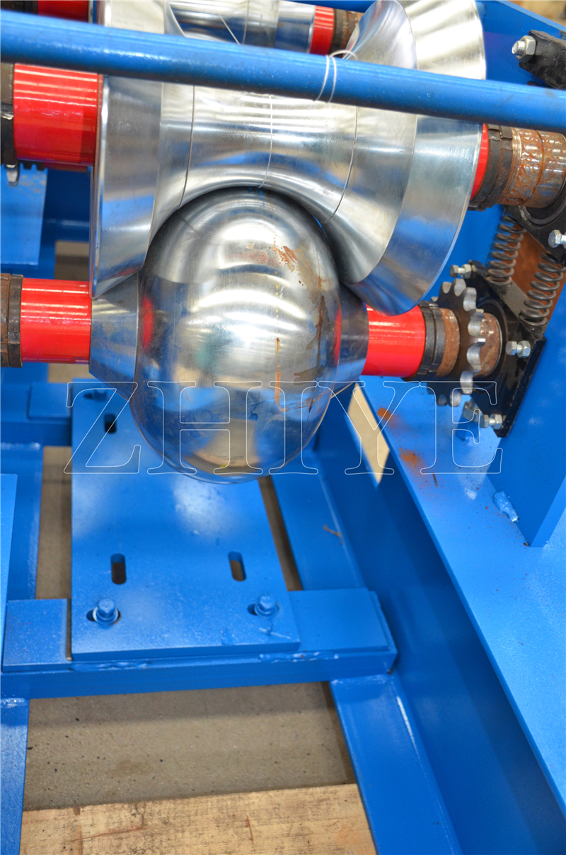 Manual Ridge Cap Sheet Roll Forming Machine