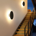 8W IP65 Outdoor Round LED Wall Light