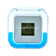 Promotional Plastic Lcd Rotary Clock