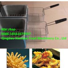 Frigideira francesa / batata batata frita / máquina de fritadeira elétrica