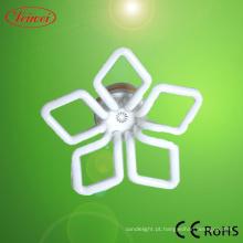 Flor da ameixeira em forma de luz de poupança de energia
