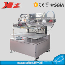 Maquinaria de impresión de pantalla de seda no tejida de cama plana